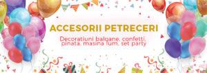 Accesorii petreceri banner
