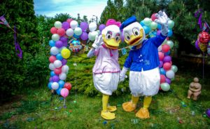 Duffy Duck impreuna cu Daisy Duck