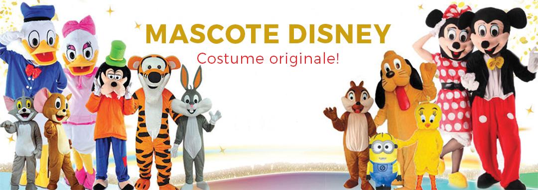 Mascote disney banner