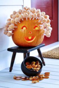 Sculptura in dovleac pentru Halloween