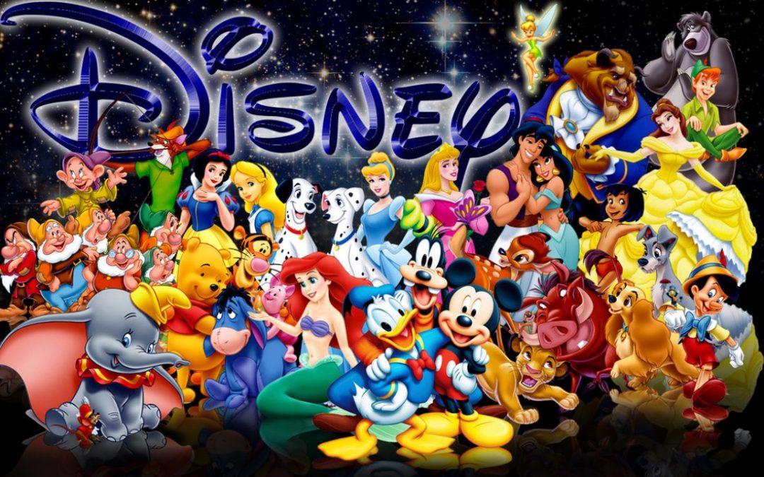 Cele mai indragite personaje Disney
