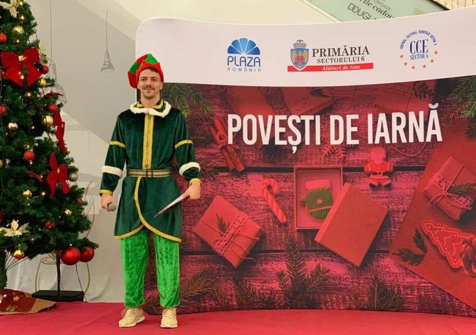 Povesti de iarna –  distractie la Plazza Romania
