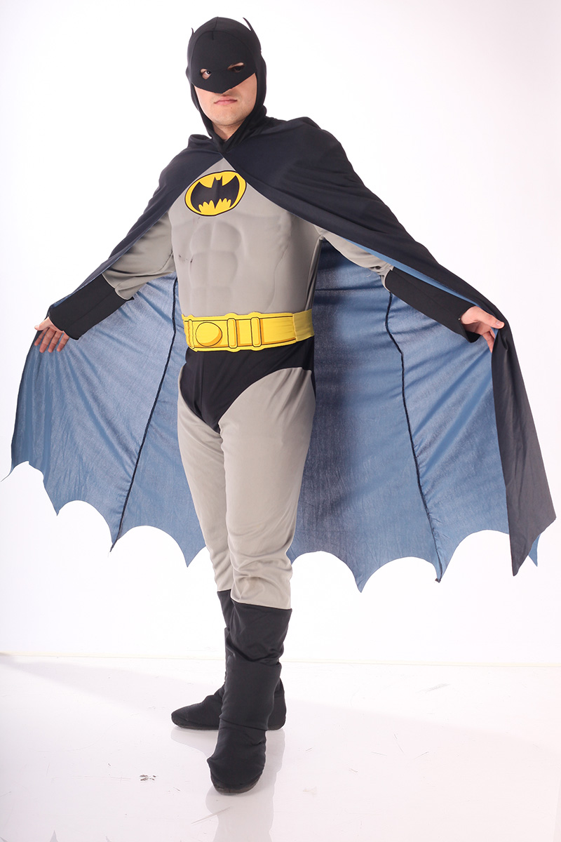 Costum Batman gri